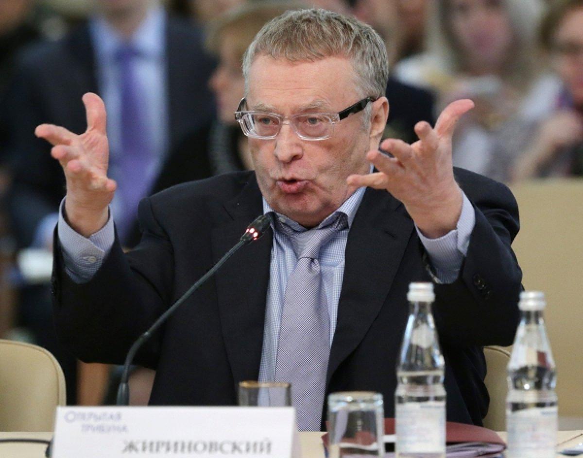 Жириновский запретил однопартийцам заниматься сексом