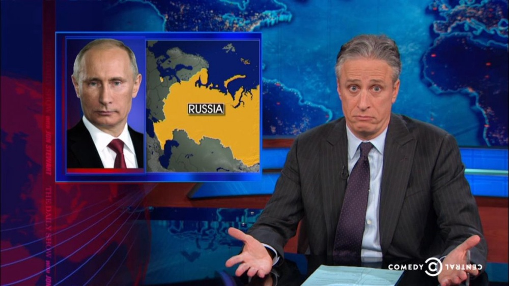 Кадр программы The Daily Show with Jon Stewart