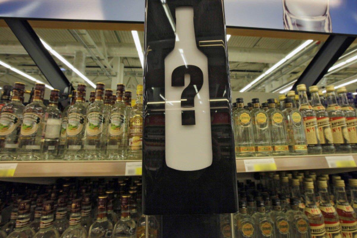 Предупреждение продавца о запрете продажи алкоголя