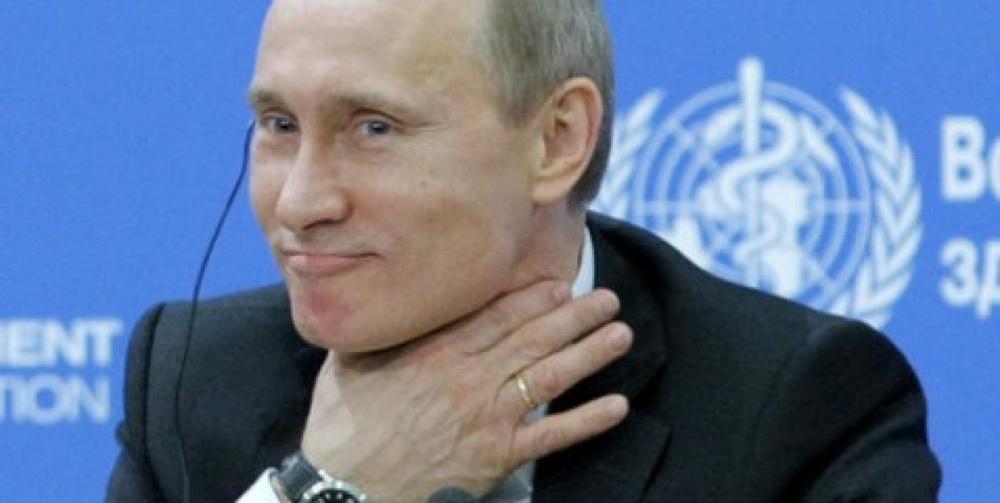 """Путину посоветовали """"слезть с пальмы на землю"""""""