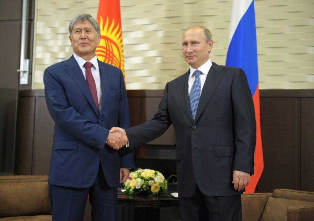 ЕАЭС: Россия выделит Кыргызстану полмиллиарда долларов
