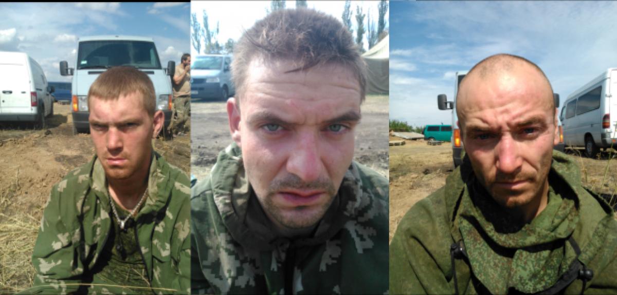 Российские десаники попавшие под обстрел на украине