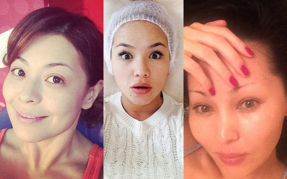 Звезды казахстанской эстрады без макияжа