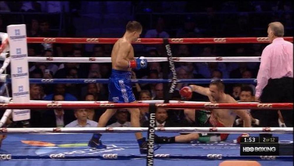 Головкин нокаутировал Рубио во втором раунде