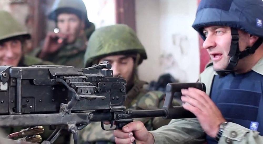 """Пореченков назвал стрельбу из пулемета в Донецке """"салютом"""""""
