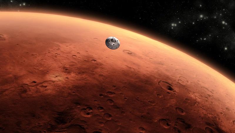 Поверхность планеты Марс. ©REUTERS