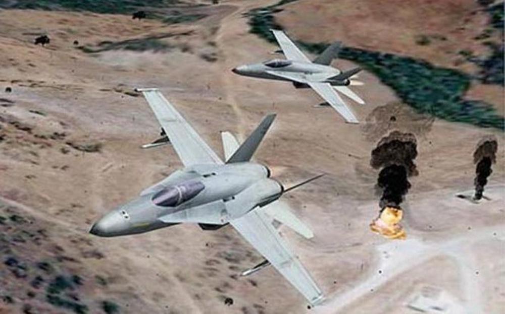 США и Франция усилят удары по позициям