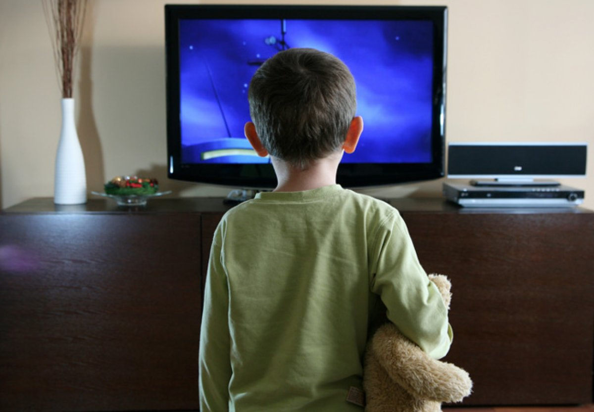 a study on how violence on tv affects children