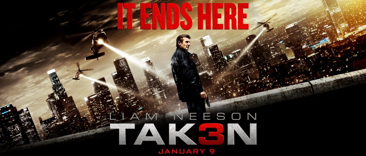TAKEN 3 Official TRAILER (2014) Liam Neeson Action Movie HD