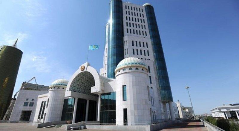 Здание Сената. Фото с сайта parlam.kz