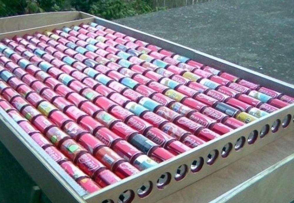 Солнечные батареи своими руками из пивных банок