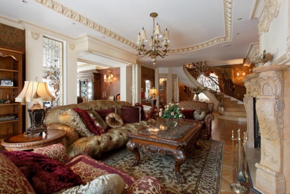 Дизайн интерьера особняка