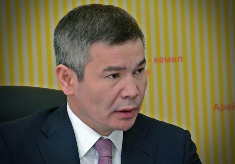 Бергей Рыскалиев. Фото с сайта azh.kz