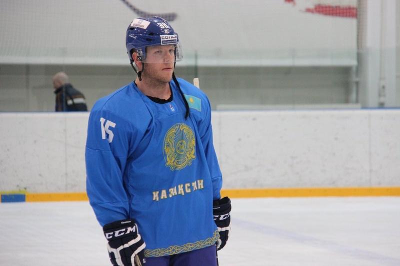 Игрок сборной Казахстана Кевин Даллмэн. © vesti.kz