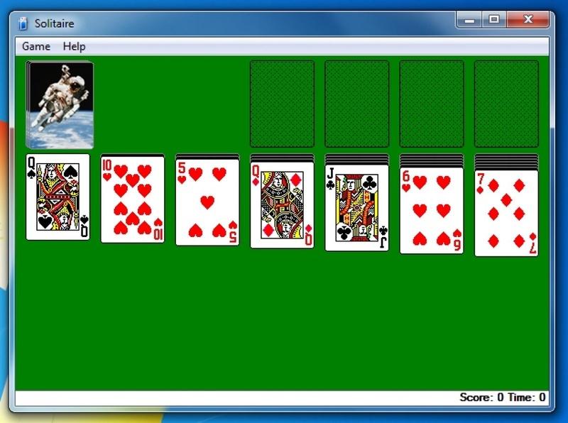 Игра косынка играться в онлайн