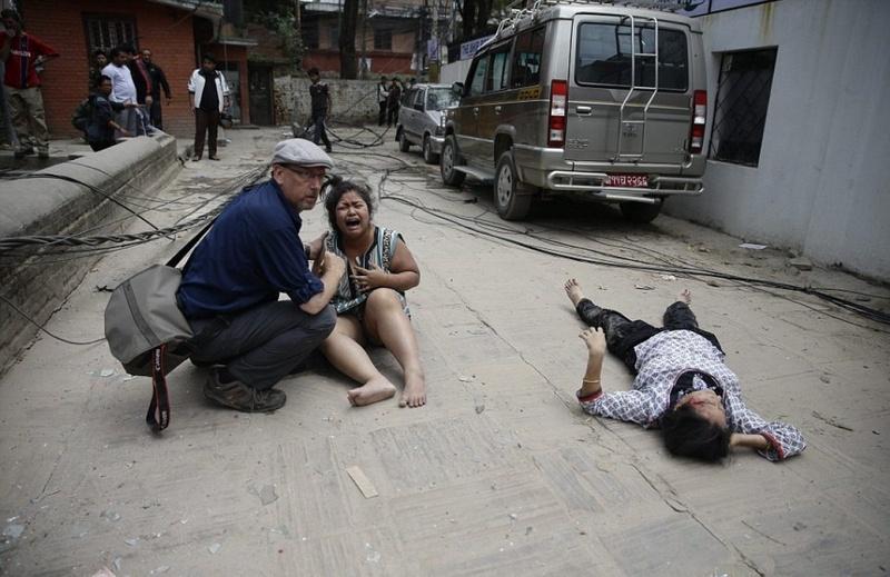 Землетрясение в Непале: Число жертв достигло 3218 человек