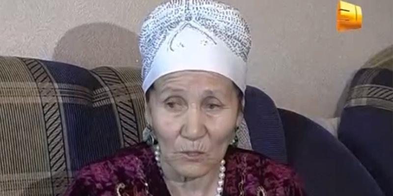 """Алип Усенова. Кадр из видео """"31 канал"""""""