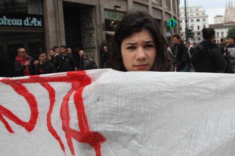 Протестующие недовольны расходами на выставку. Фото Роза Есенкулова ©