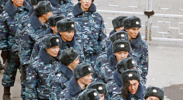 Национальная гвардия РК предлагает устанавливать биотуалеты для патрульных