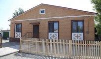 Первые дома сдали в поселке имени Габидена Мустафина Карагандинской области. Фото©Пресс-служба акимата Карагандинской области.