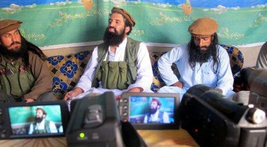 """Представители движения """"Талибан"""". © EPA"""