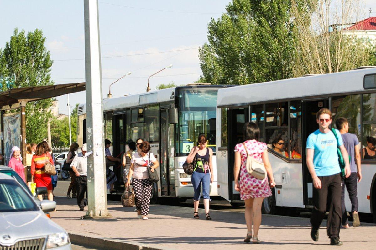 схема движения автобусов в актобе