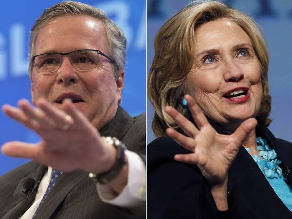 an analysis of the clinton bush presidency in the united states