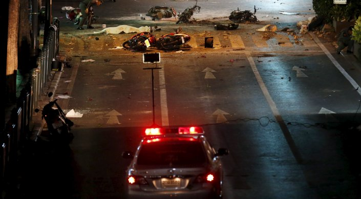 Теракт в Бангкоке попал на видео