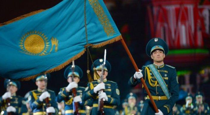 Казахстанский военный оркестр