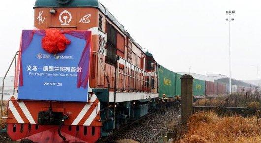 """Первый поезд по """"Шелковому пути"""" из Украины в обход РФ прибыл в Китай - Цензор.НЕТ 827"""
