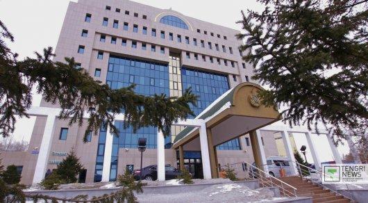Здание ЦИК в Астане. Фото Турар Казангапов©