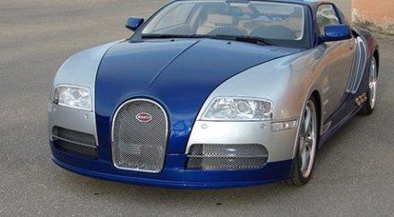 bugatti veyron на базе bmw
