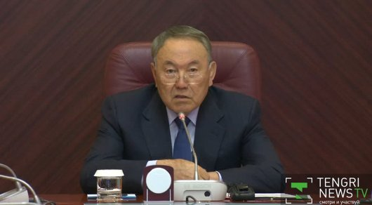 Нурсултан Назарбаев. Скриншот с видео.