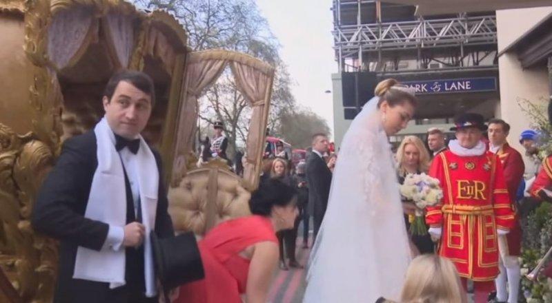 первые фото со свадьбы гуцериевых в лондоне родину обещают доставить
