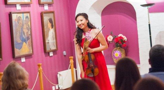 Скрипачка из Павлодара Меруерт Карменова. Фото из личного архива