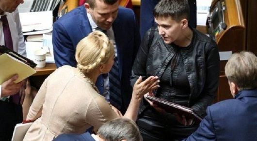 Савченко охарактеризовала работу Верховной рады нецензурно