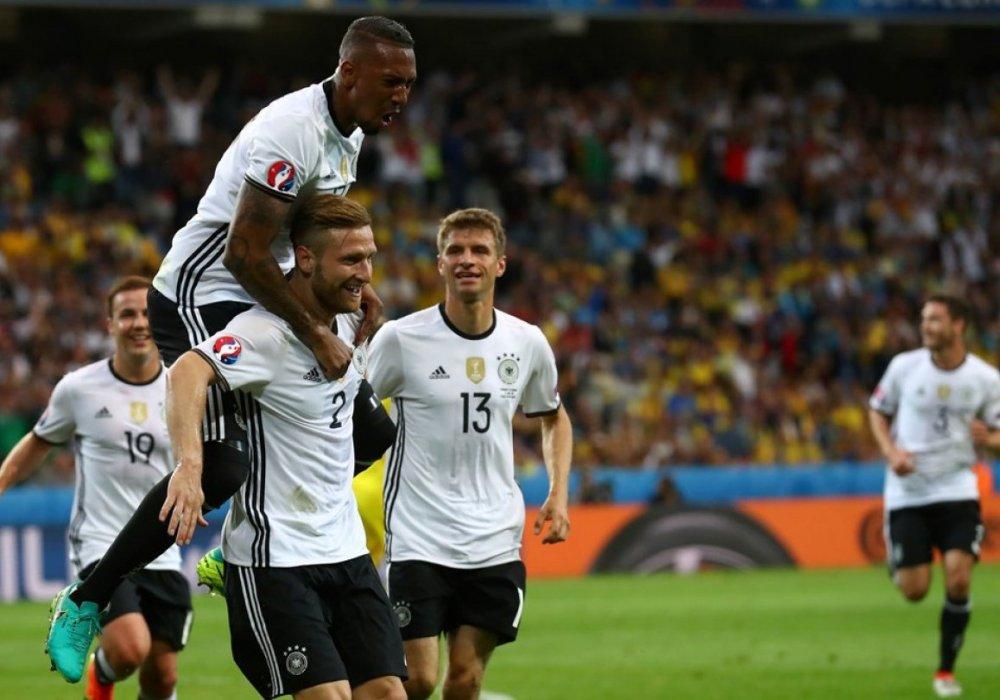 Результаты матча Германия-Украина наЕвро