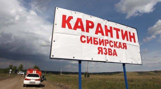 Казахстан: Вкарагандинском селе введен режимЧС посибирской язве