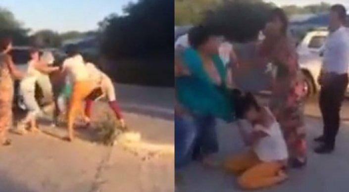 Полиция изучает видео драки женщин в Актау