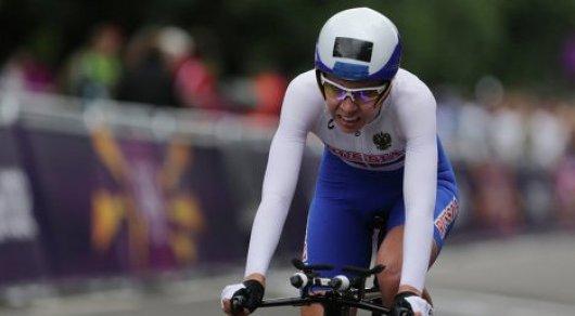 Из-за допинга временно отстранили от соревнований велогонщицу