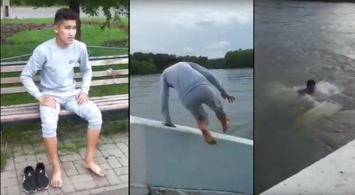 Подросток, снявший гибель товарища в Иртыше на видео, находится под следствием