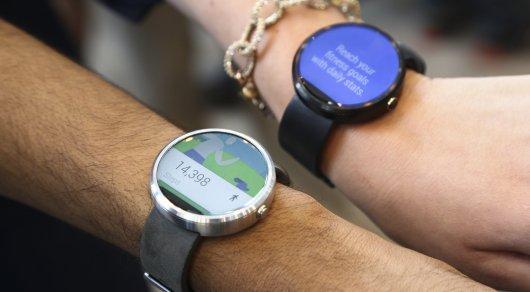 """Google разрабатывает """"умные"""" часы"""