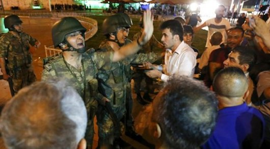 Задержан предполагаемый зачинщик переворота в Турции