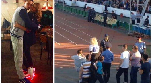 Жена Романа Муртазаева эмоционально отметила его гол в ворота