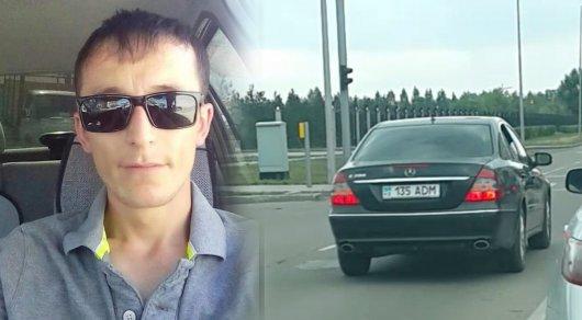 Выехавший на встречку водитель с госномером ADM рассказал подробности инцидента