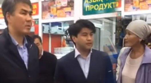 Жительница Астаны пожаловалась на высокие цены Исекешеву и Бишимбаеву