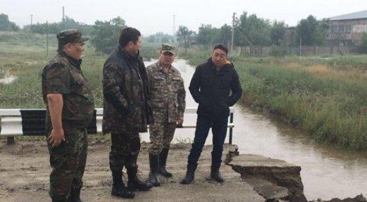 47 дворов подтопило в Актюбинской области