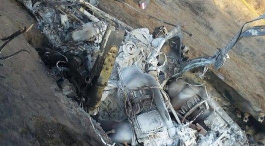 Уголовное дело по факту крушения вертолета в Жамбылской области прекращено