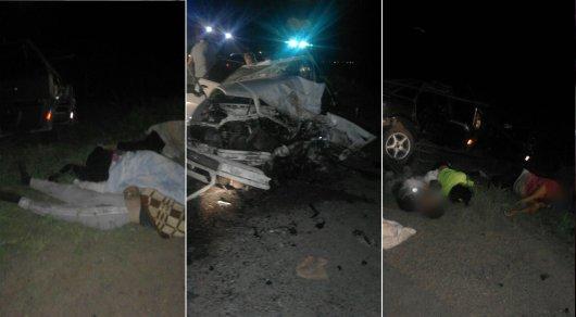 Шесть человек погибли в крупном ДТП в Павлодарской области