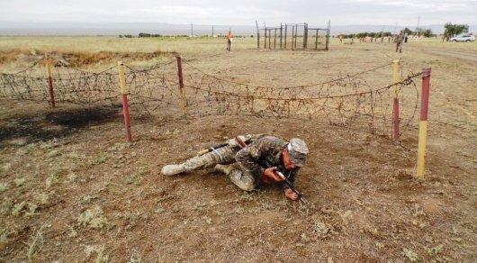 Наполигоне вЖамбылской области ранены ангольские военные